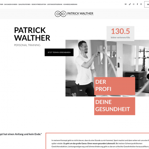 Patrick Walther Personal Training